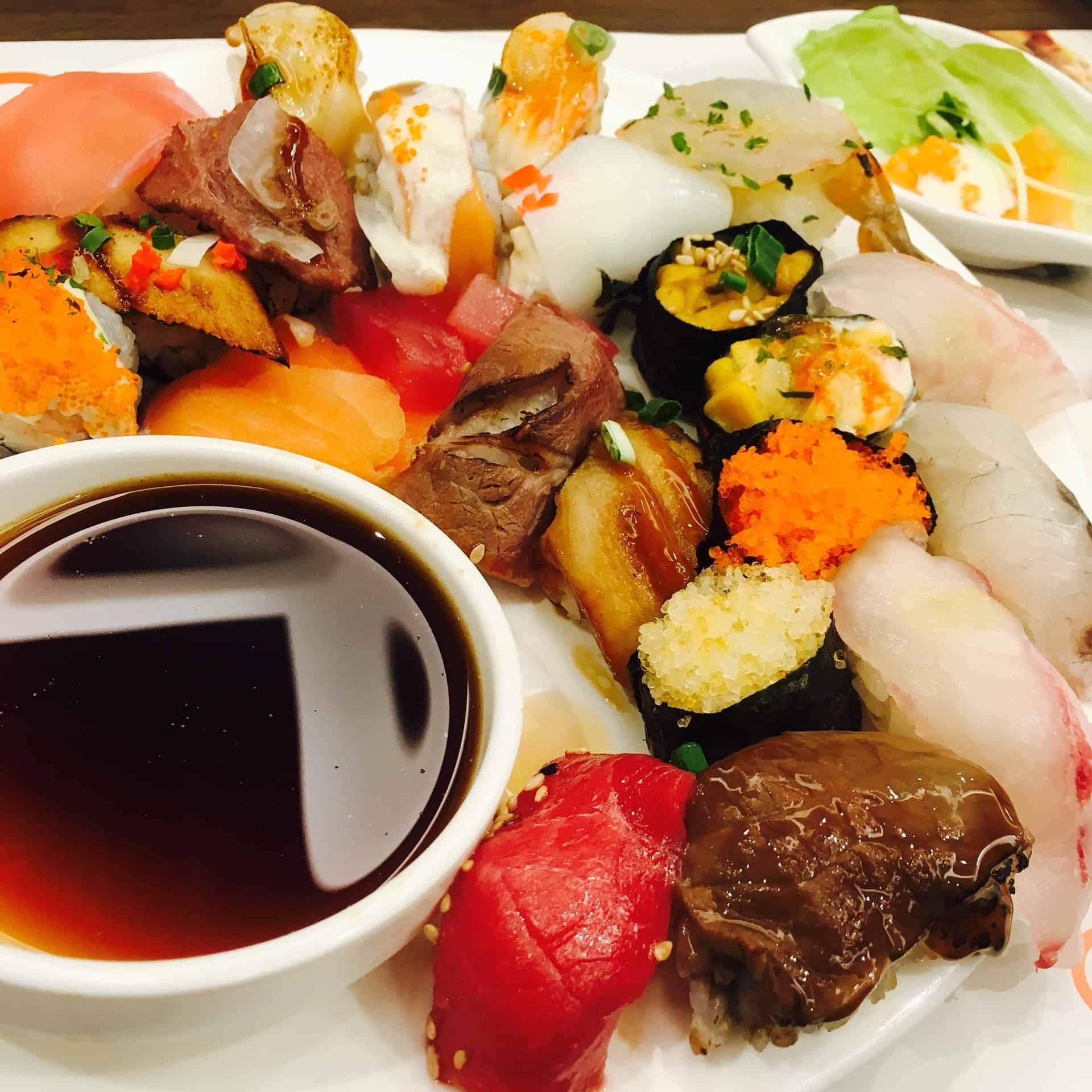Marella Discovery sushi bar