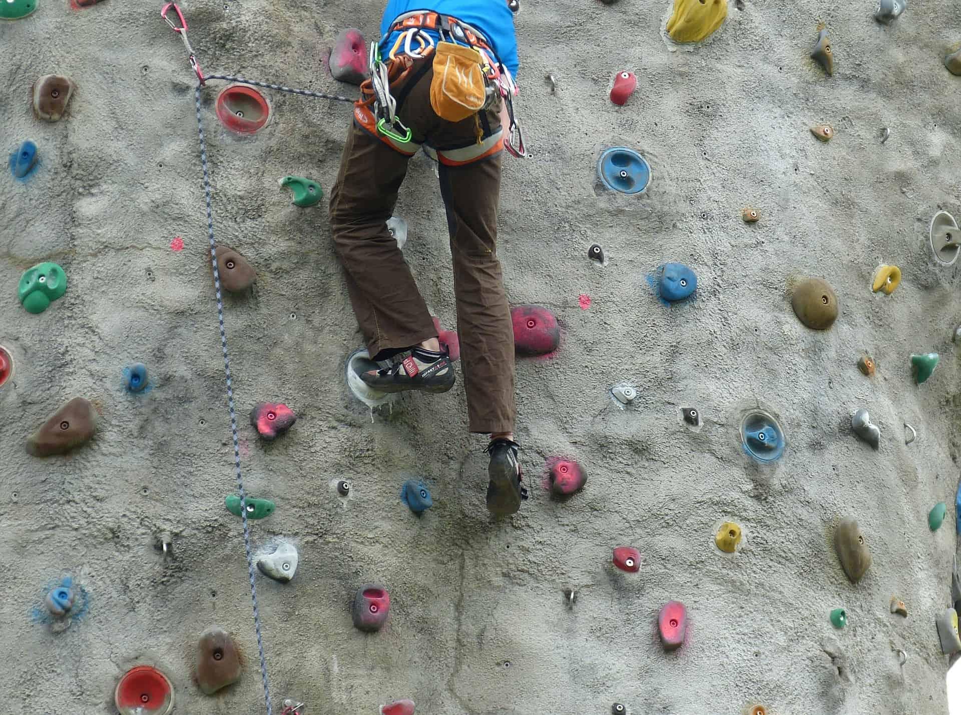 Marella Discovery rock climbing