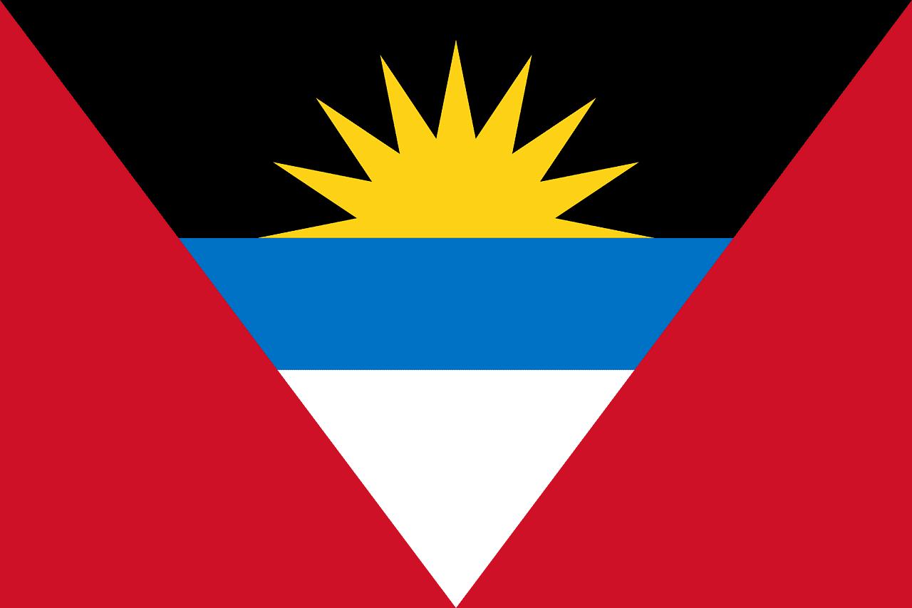 St John's, Antigua Flag