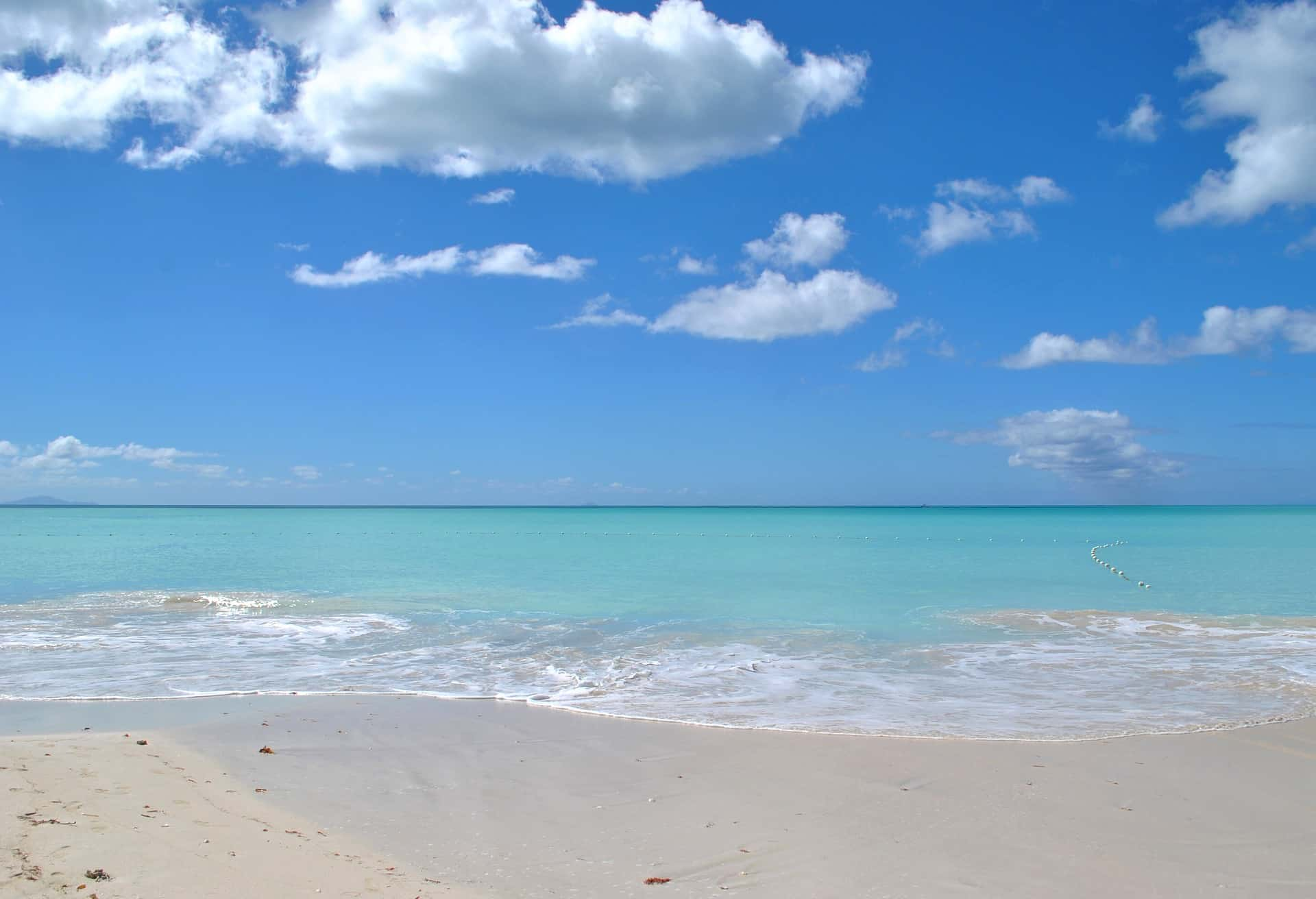 St John's, Antigua Beach
