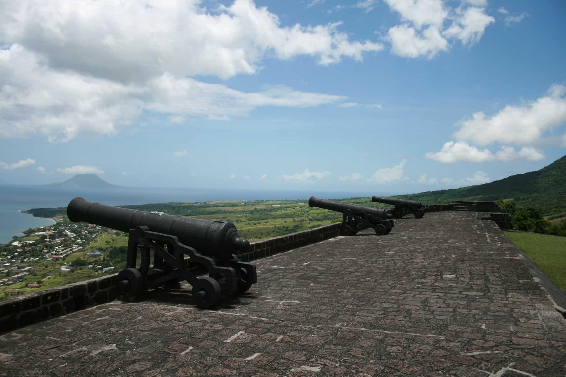 Basseterre, St Kitts Fort