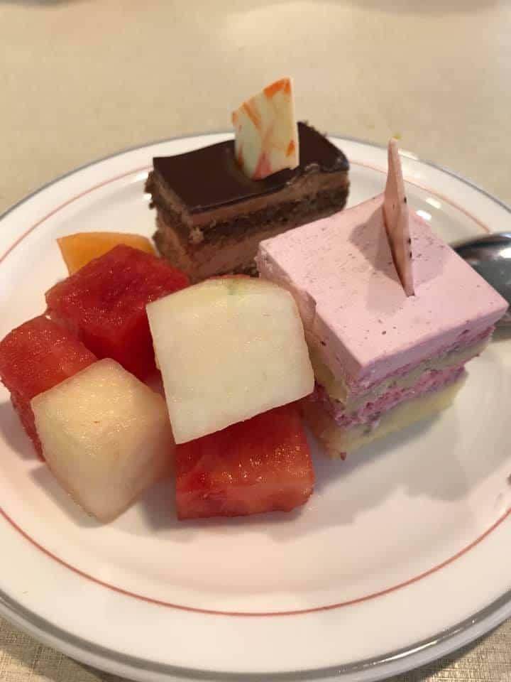 Marella Discovery desserts