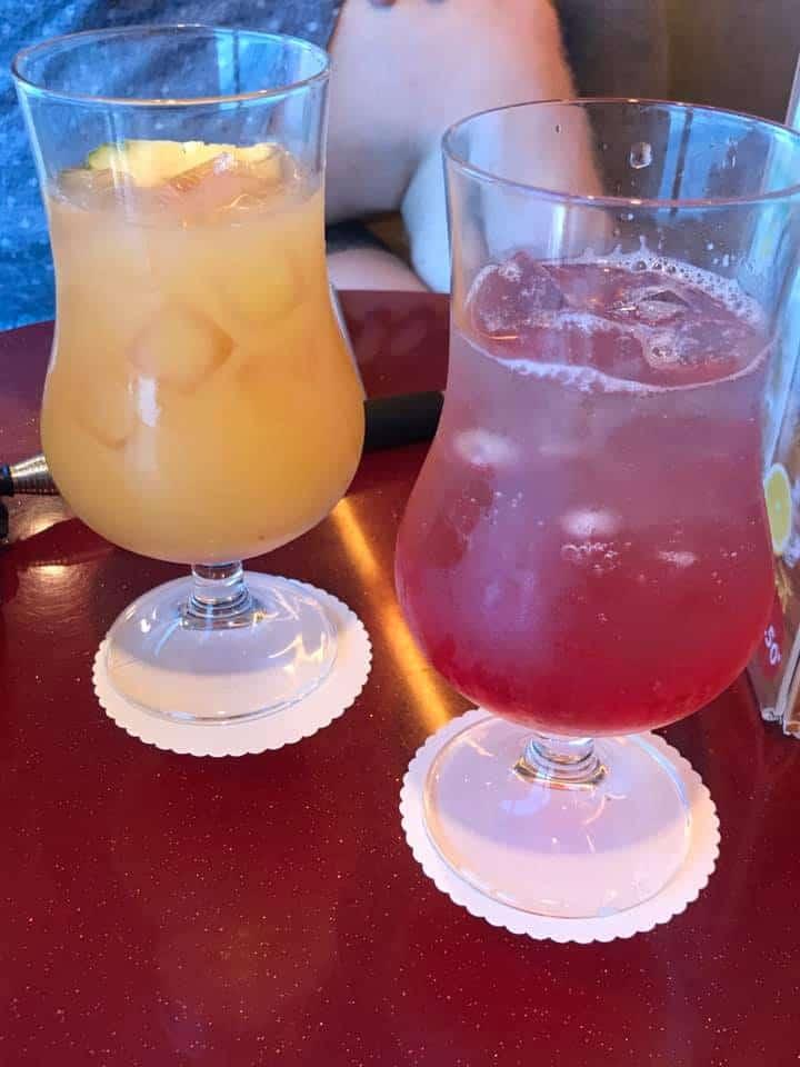 Marella Discovery Ship cocktails