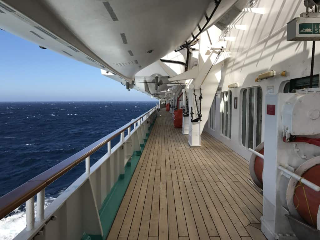 Muster Drill on a cruise ship